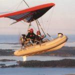 Das fliegende Beiboot