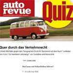 Autorevue-Quiz: Verkehrsrecht
