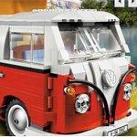 Klassiker in Lego: der VW Bus T1