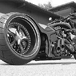 Das Motorrad des Kimi Raikkonen