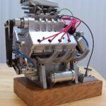 V8-Motor - selbstgebaut