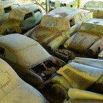 Oldtimer-Autofriedhof in der Schweiz wird versteigert